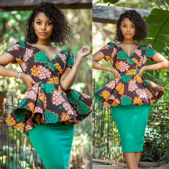 Top 20 Latest Ankara Styles Designs 2019: STEP UP YOUR STYLE WITH THESE AFRICAN PRINT DESIGNS